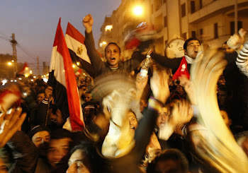 Cairo's streets exploded in joy when Mubarak stepped down after three-decades of autocratic rule