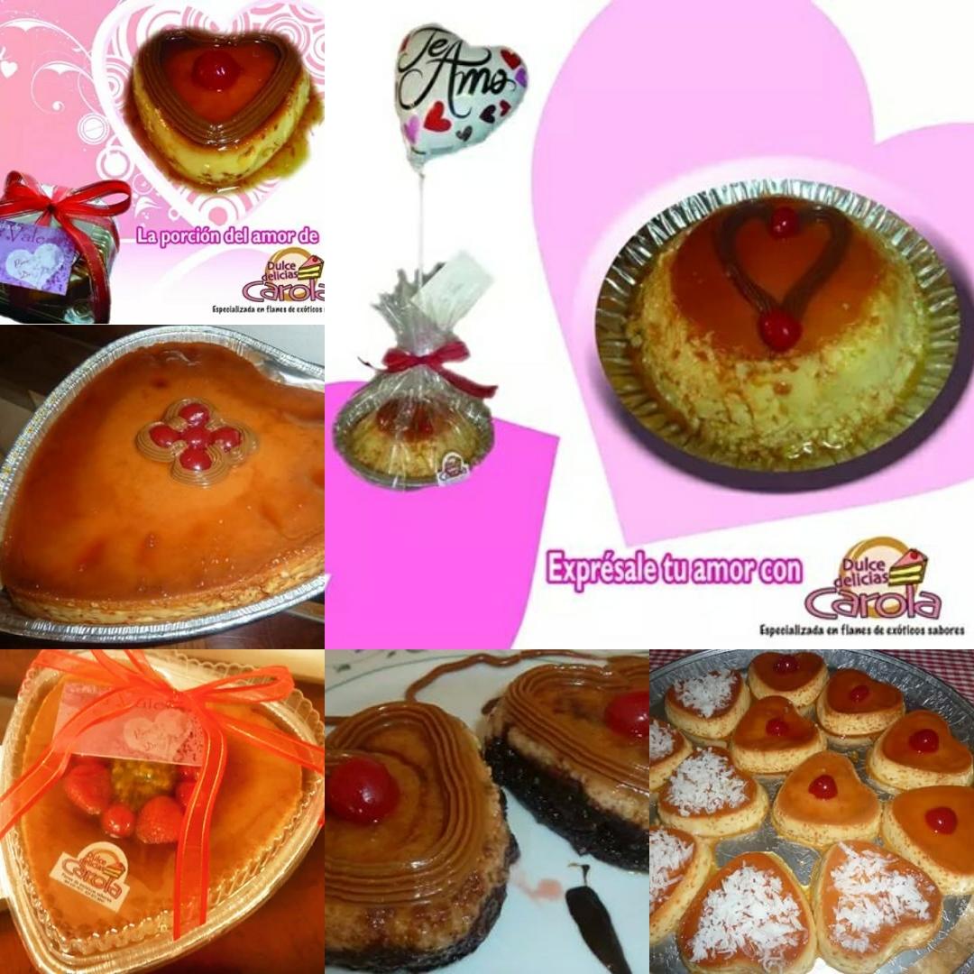 Postres para San Valentin Carola