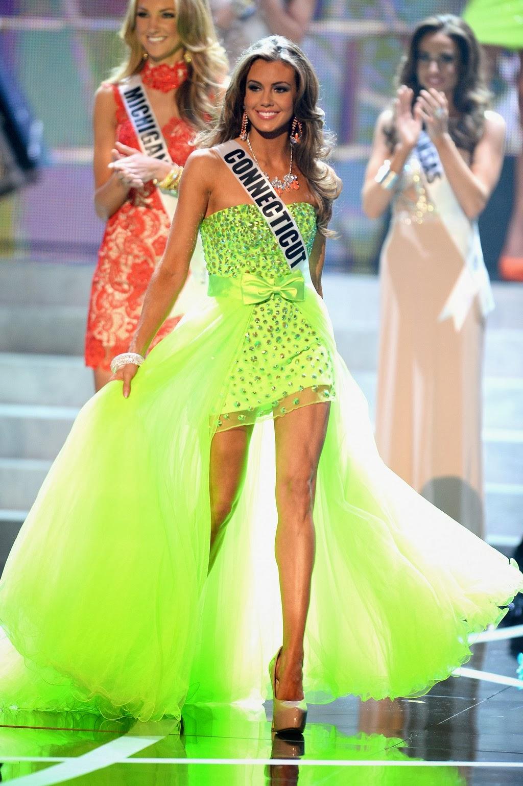Защита платья на конкурсе мисс