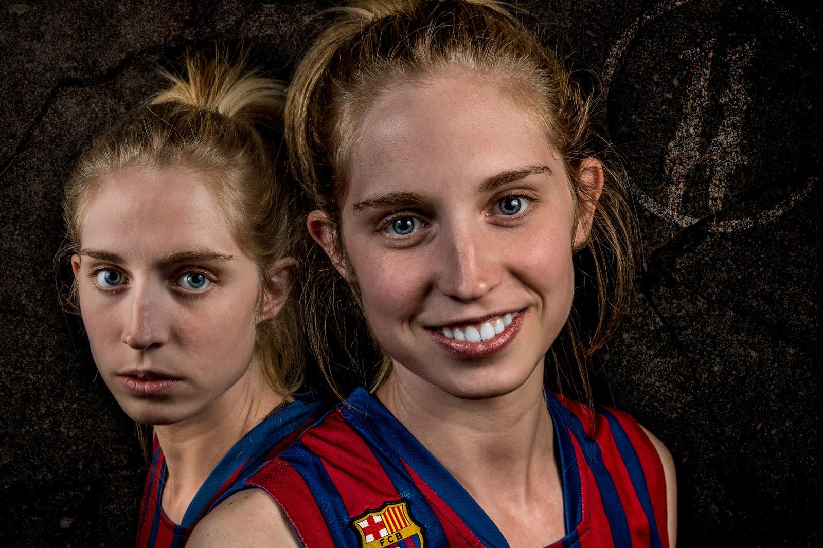 Marta 11 - CBS Barça Senior Femenino A - 2013 :: 2 x Canon EOS 5D MkIII | ISO100 | Canon 24-105 @47&50mm | f/11 | 1/60s