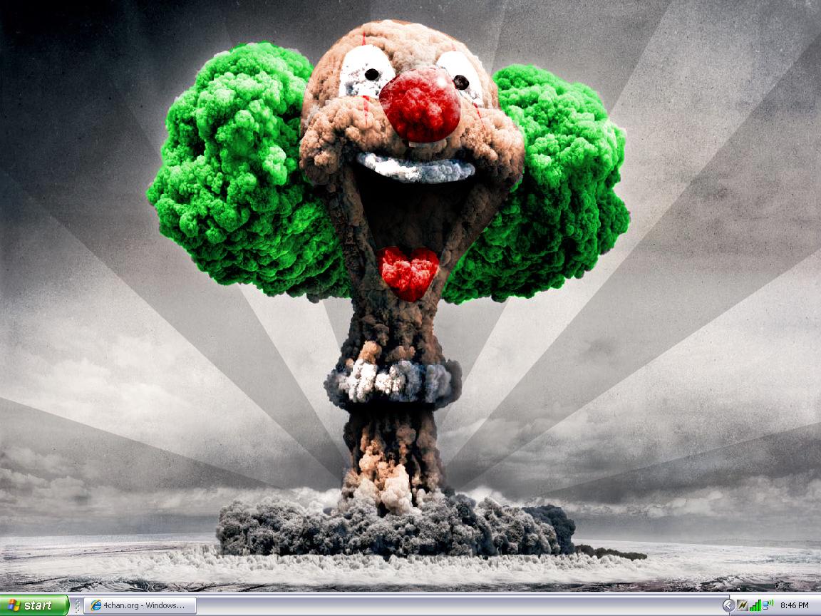 Nuke Funny HD wallpaper