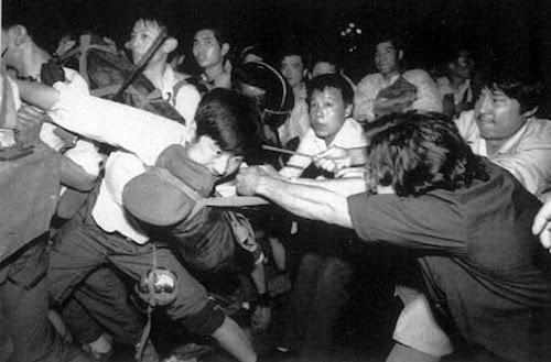 Protestas en la Plaza de Tiananmén 1989