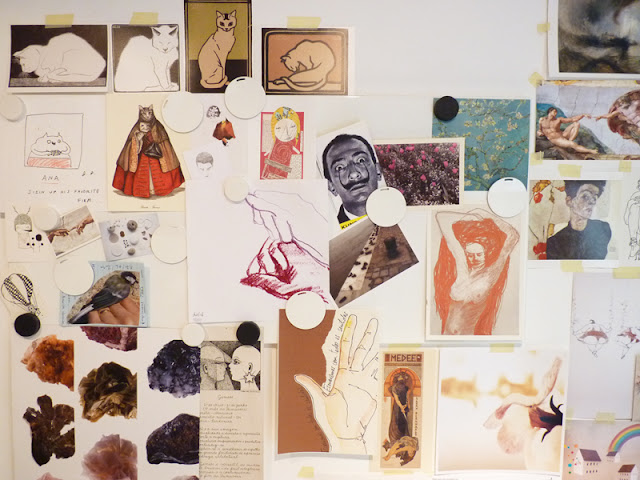 Ana Pina Studio - Inspiration Wall