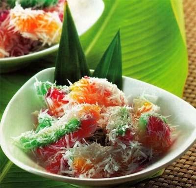 Resep Kue Cenil Pelangi