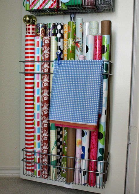 Superior ... Over The Door Wrapping Paper Organizer