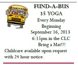 Fund A Bus $5 Yoga - Mid-County