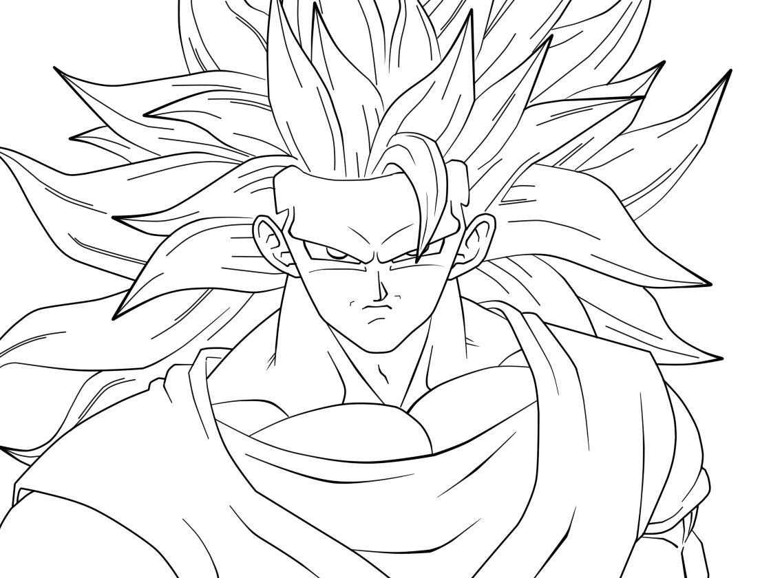 Free Coloring Pages Of Goku Z Goku Coloring Pages