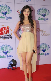 Actress Richa Panai Latest  Pictures at Memu Saitam Dinner with Stars Red Carpet  6