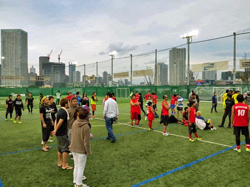 MIFA Football Park, Toyosu, Tokyo.