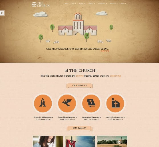 The Church Responsive WordPress Theme