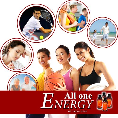 đối tượng All One Energy OCEWA tăng cường năng lượng