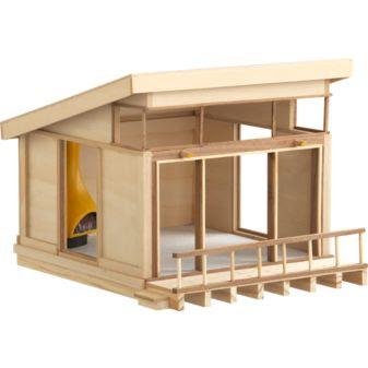 choosing change mini modern doll house. Black Bedroom Furniture Sets. Home Design Ideas