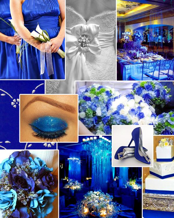 Cornflower Blue Wedding Decorations