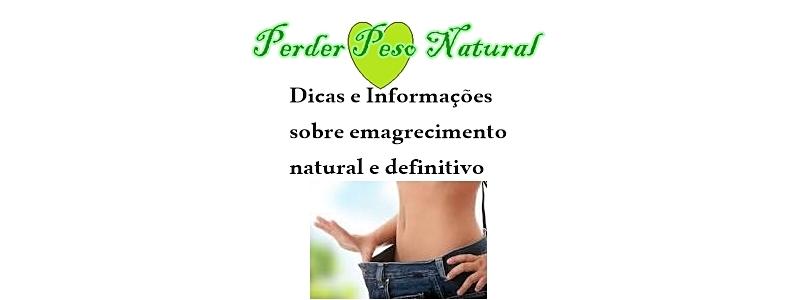 Perder peso definitivamente com estilo natural e saudável