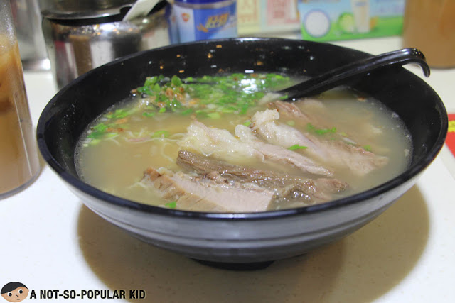 Beef Stew Noodle Soup in Mong Kok