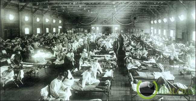 Flu Spanyol (50-100juta tewas)