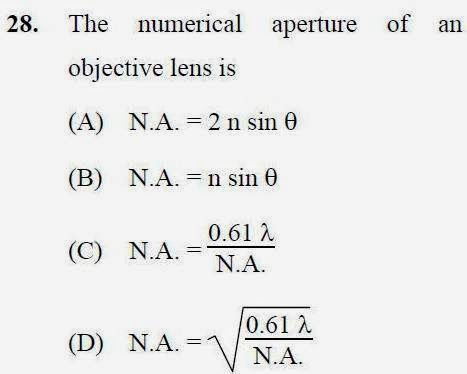 2013 September UGC NET in Forensic Science, Paper II, Question 28