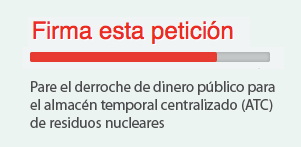 Firma contra el cementerio nuclear