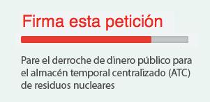 Firma contra el cementerio nuclear