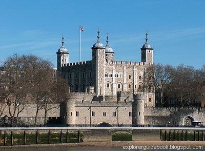 Kastil Tower of London Inggris