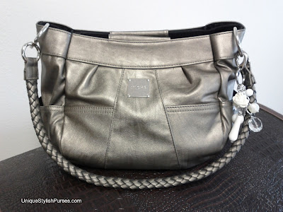 Miche Kinsley Demi Shell with Pewter Handles