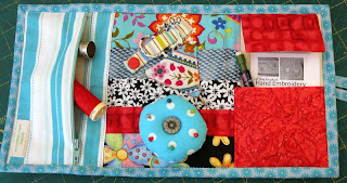 inside of sewing kit