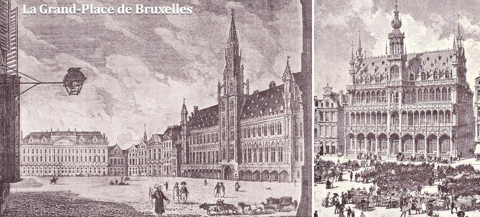 Les Maisons de la Grand-Place de Bruxelles - Hôtel de Ville - Maison du Roi - Bruxelles-Bruxellons