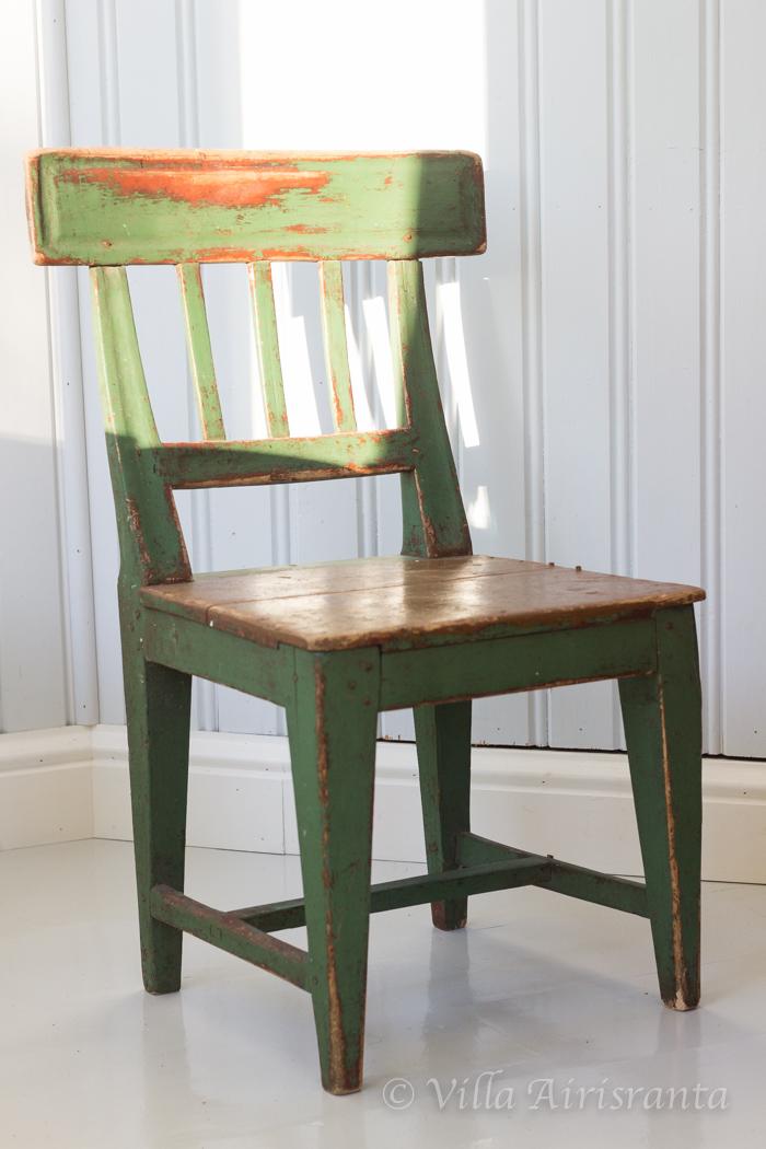 vanha tuoli, maalaisromanttinen, kuisti, lasikuisti