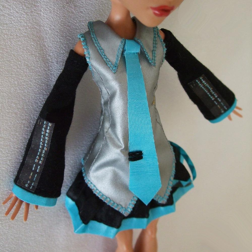 Jonzondolls Monster High Doll Outfit Hatsune Miku Costume