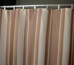 Natural Fabric Shower Curtains