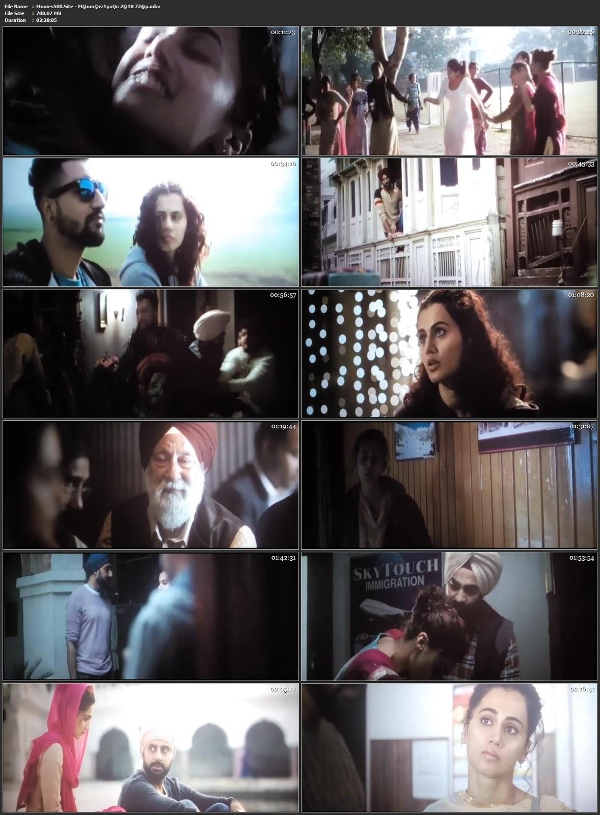 Manmarziyaan 2018 Hindi Full Movie DVDScr 720p