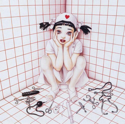 trevor brown ilustrações garotas fetiche