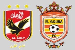 مشاهدة مباراة الأهلي والجونة بث مباشر 12-6-2014 الدوري المصري
