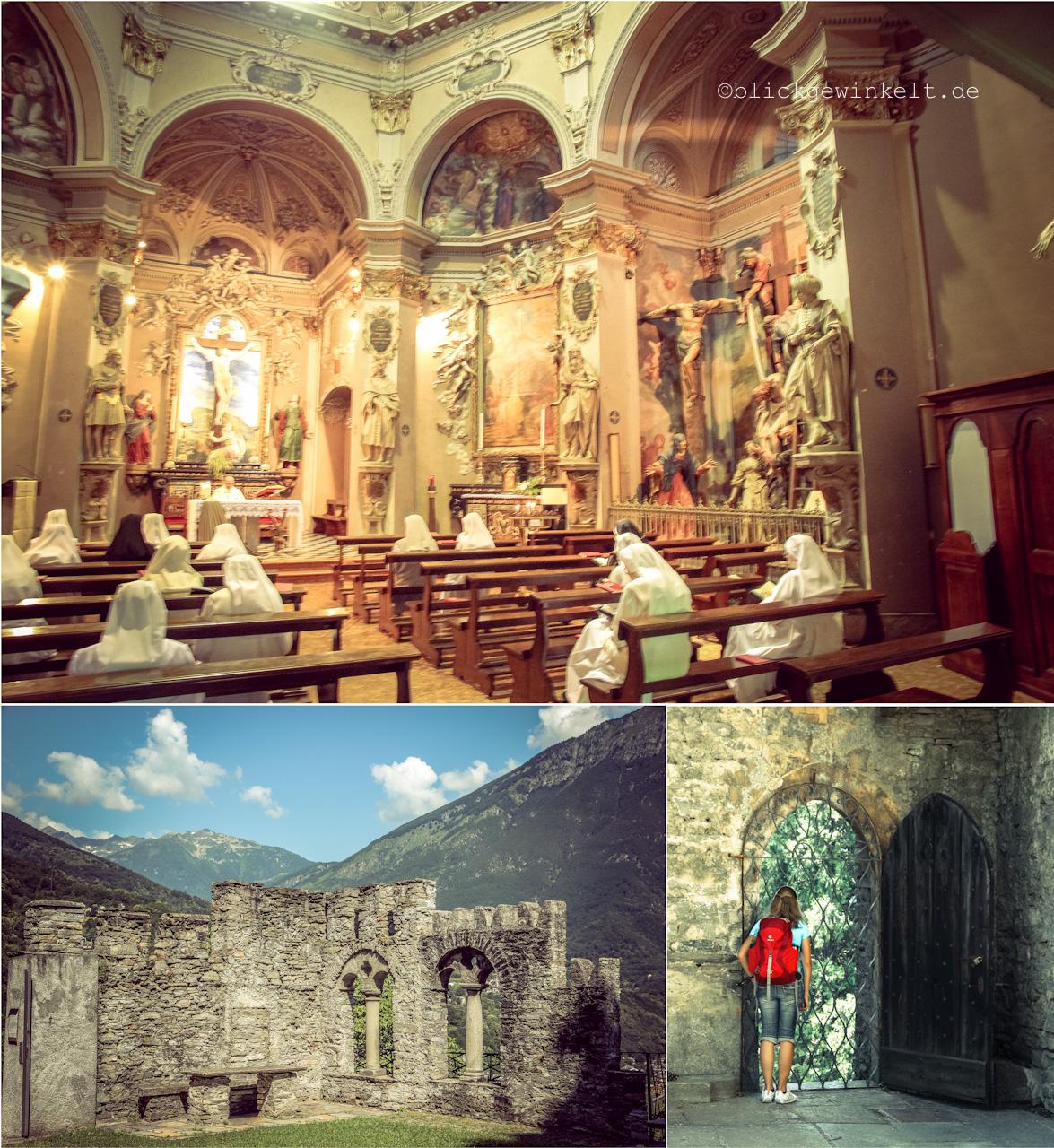 Kapelle in Italien, Piemonte, Kalvarienberg