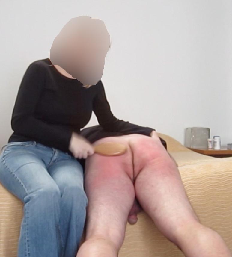 my man spank I