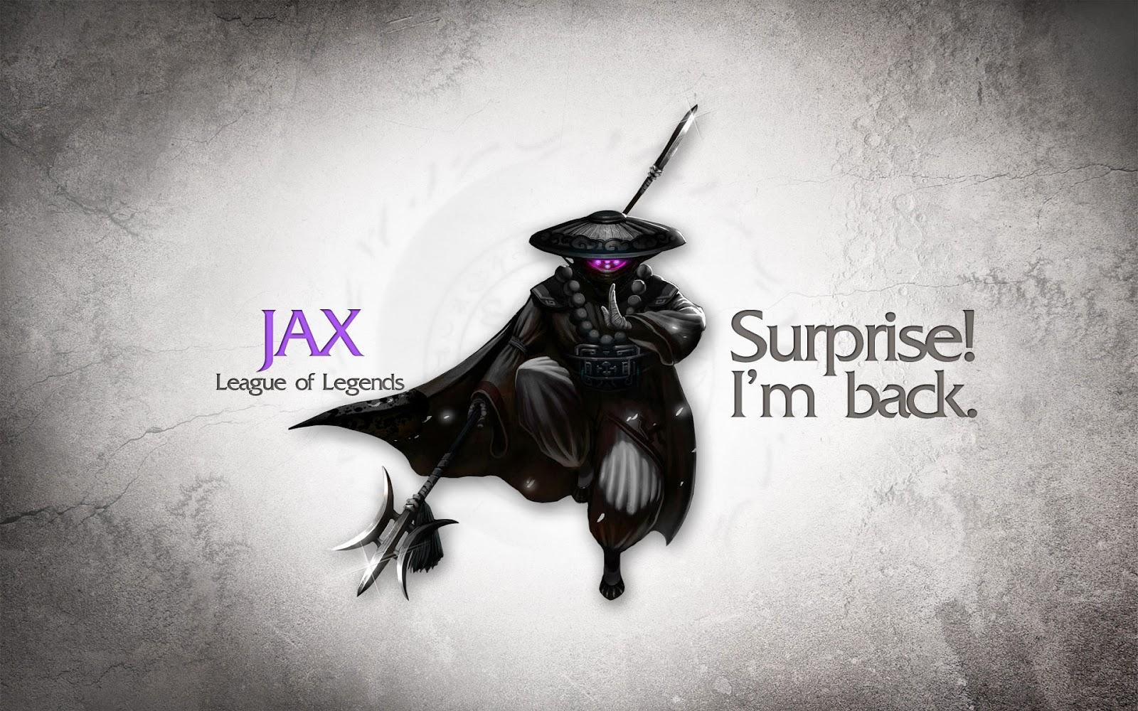 Bộ Ảnh bìa ảnh nền Jax LOL đẹp - Background Jax LOL
