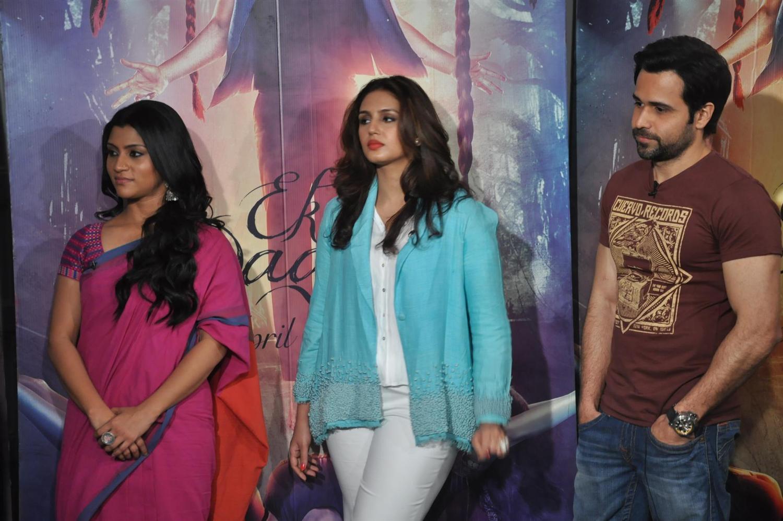 Huma Qureshi, Emraan Hashmi and Kalki Koechline Promoting