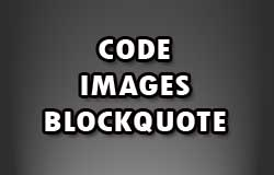Menambahkan Kode, Gambar dan Blockquote Pada Komentar