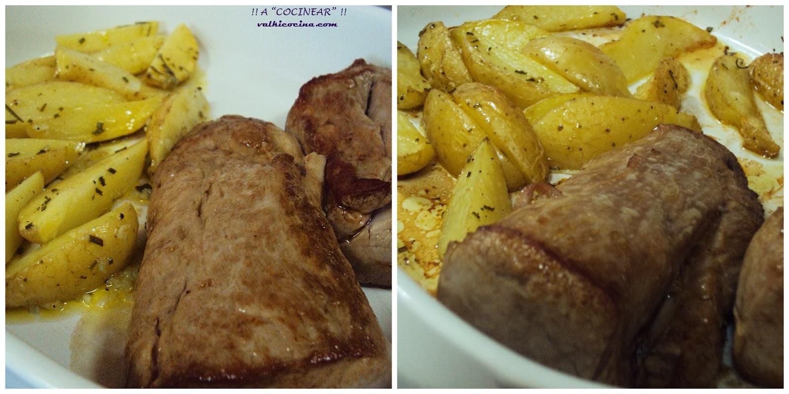 Solomillo de cerdo a la pimienta negra a cocinear - Como preparar un solomillo de cerdo al horno ...