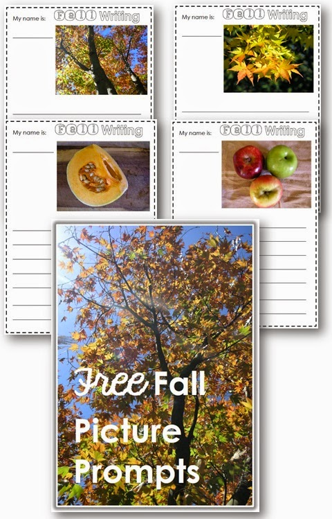 Free Fall Picture Prompts