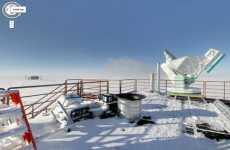 La Antártida en Google Street View