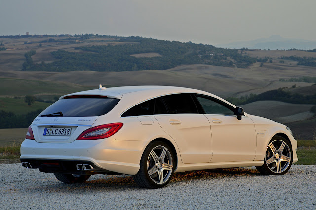 фото Mercedes Cls 63 Amg Shooting Brake 2013