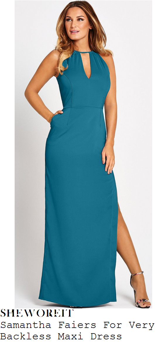 sam-faiers-teal-green-cut-out-backless-maxi-dress-very-launch