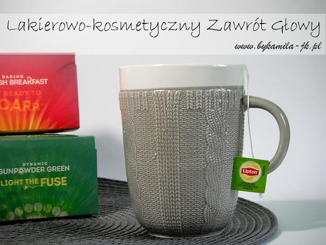 Lipton Dynamic Gunpowder Green Daring English Breakfast herbata zielona czarna