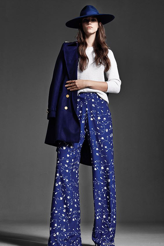 Pantalones de fiesta otoño invierno 2015 Naima.