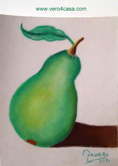 Dibujo de pera