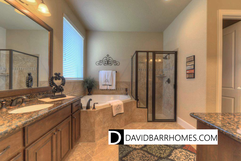 Florida New Homes: Spa Tub with Shower or Larger Walk in Shower ...