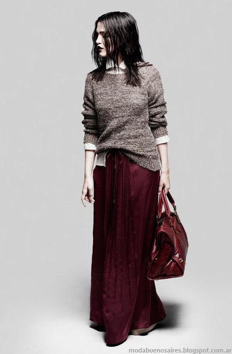 Ginebra looks de invierno 2013 moda.
