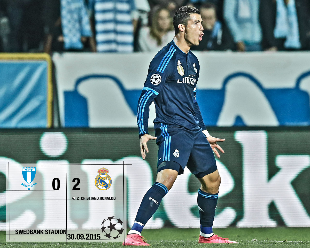 Real Madrid vs Malmo