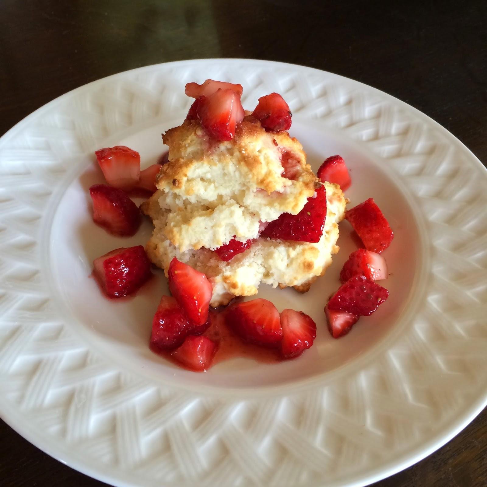Strawberry Shortcake, Dessert, Project Soiree, Recipe